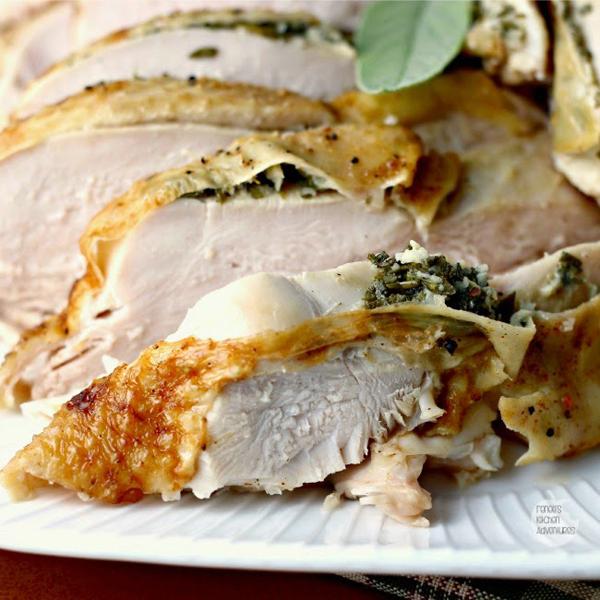 Slow Cooker Herbed Turkey Breast by Renee's Kitchen Adventures
