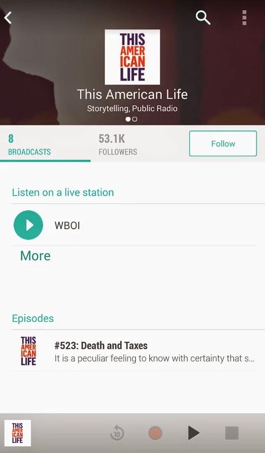 TuneIn Radio Pro v13.1