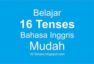 Belajar 16 Tenses Bahasa Inggris Mudah