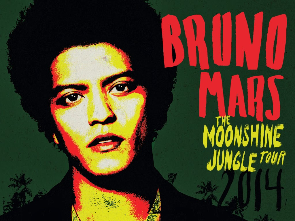 The Moonshine Jungle Tour 2014 of Bruno Mars (Max's Restaurant)