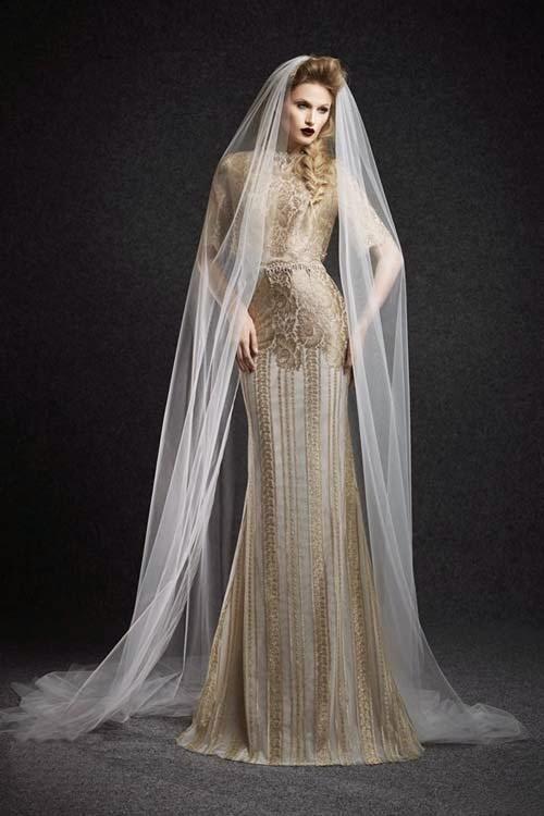2015 Fall Wedding Dresses by Ersa Atelier