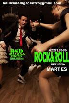 INTENSIVO DE ROCK&ROLL  INICIAL EN SEPTIEMBRE EN BSD MÁLAGA CENTRO.