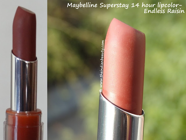 maybelline superstay lipcolor endless raisin reviews