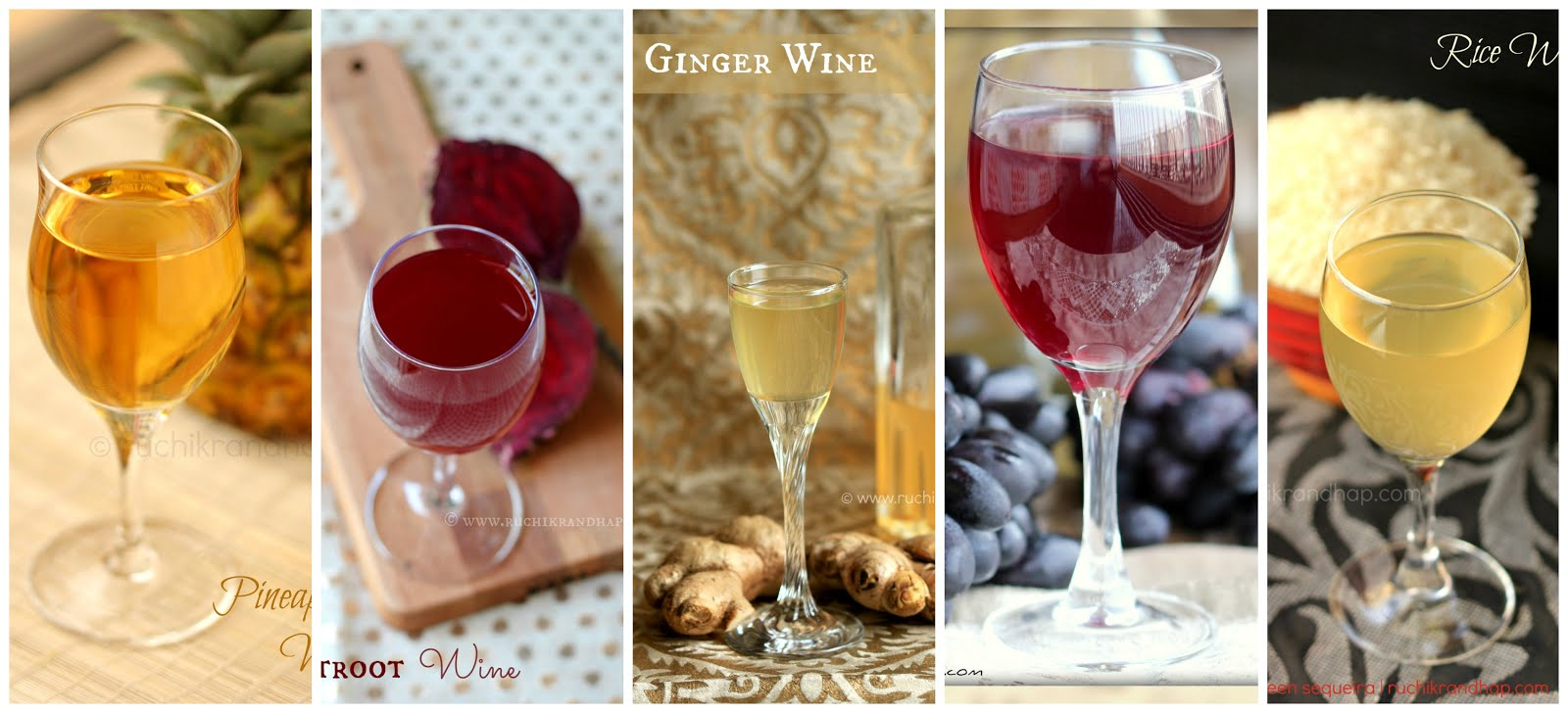 HOMEMADE WINES