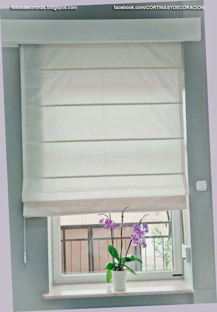 Cortinas romanas y como hacer una cortina romana fotos for Como hacer una cortina para exterior