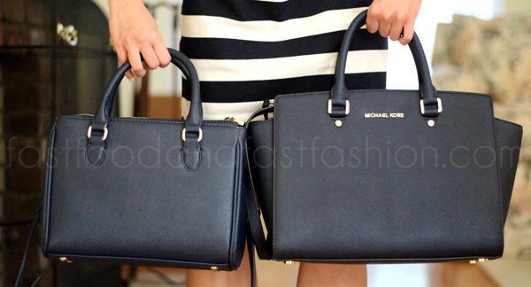 Reduced Michael Kors Selma Satchels - 2013 08 Review Zara Mini Office City Bag