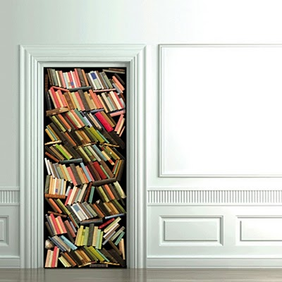 Decora o nas portas portas adesivadas decora es modernas - Decorazioni per porte ingresso ...