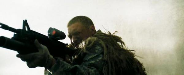 Фильм Стрелок. В кадре карабин M4