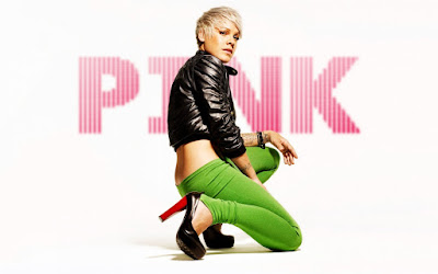 Famous Singer Pink Wallpaper