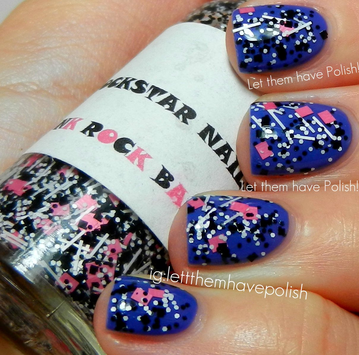 Etsy Mania! Rockstar Nails Punk Rock Barbie and an Update