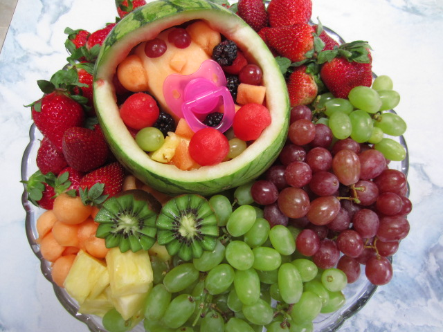 simple homecraft baby shower fruit salad