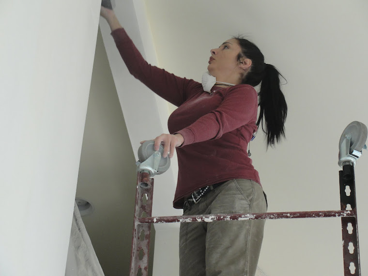Mel Sanding Soffit, sheetrock finishing, Long Island NY