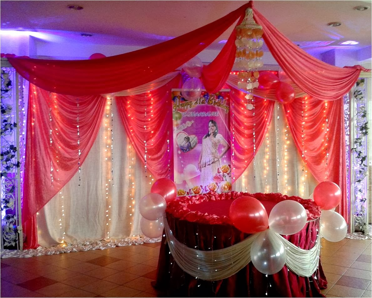 Kisha mega events for 21st birthday decoration packages