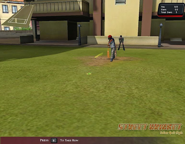 Street Cricket For PC Game Play