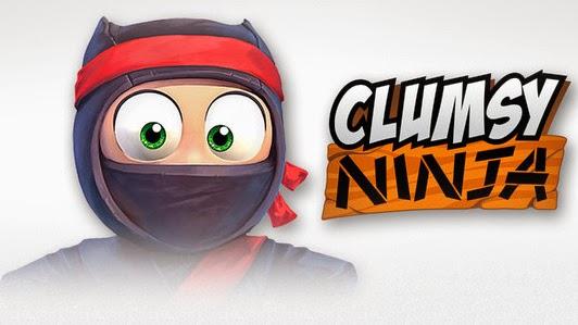 Clumsy Ninja Android MOD APK+DATA