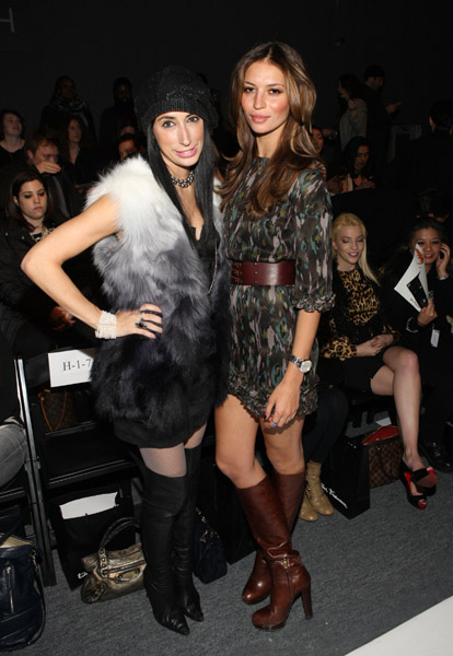 Esther Lima Joel Houston http://www.tomandlorenzo.com/2011/02/mbfwny-front-row-day-3-2.html