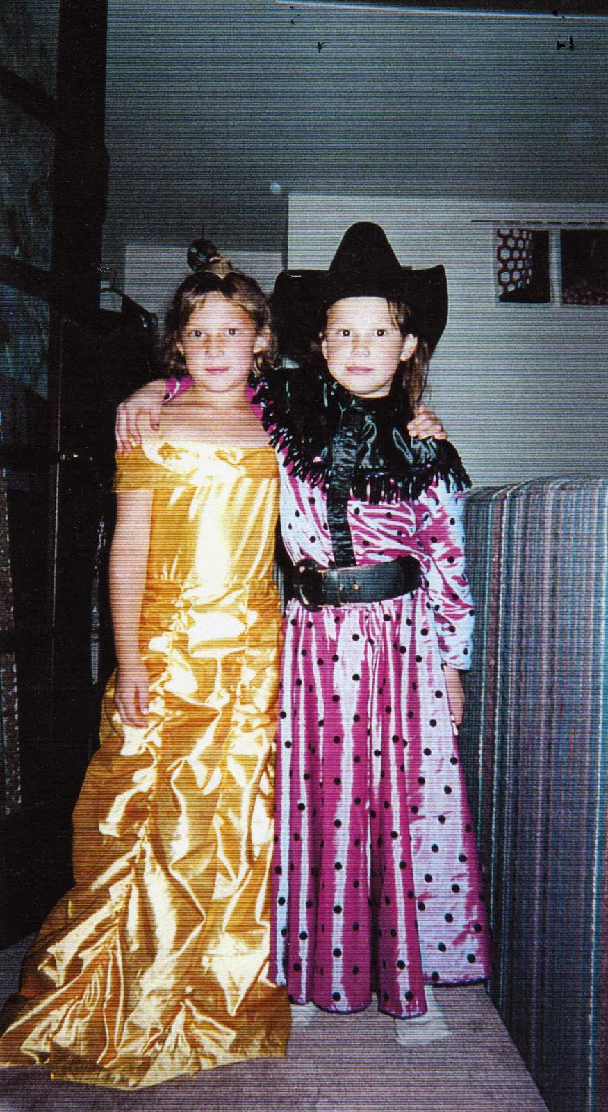 The next year I was Belle from Beauty and the Beast. Again it was a generic Halloween costume from a shop but I had fun with it.  sc 1 st  Charlotteu0027s Web & Charlotteu0027s Web: Flashback Friday: The Fourth