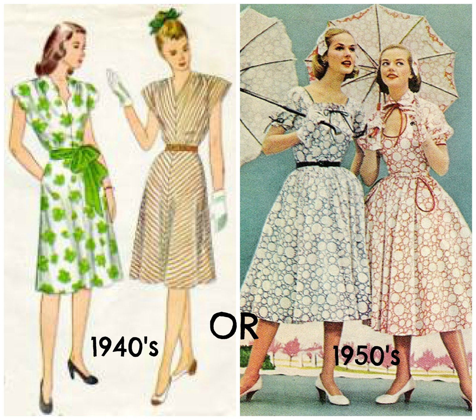 1940s clothing style the 1940 s or 1950 s which to