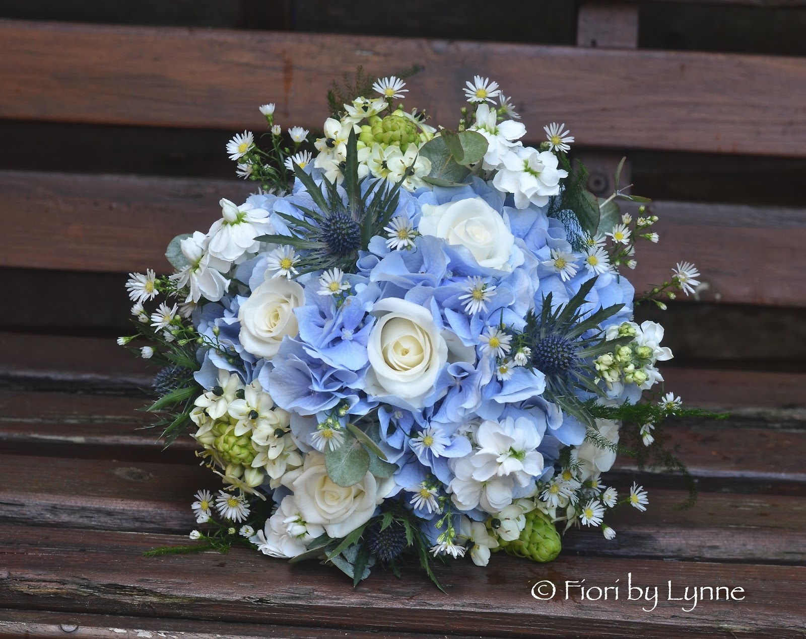 White Blue And Silver Wedding Bouquets: De beautiful wedding ...