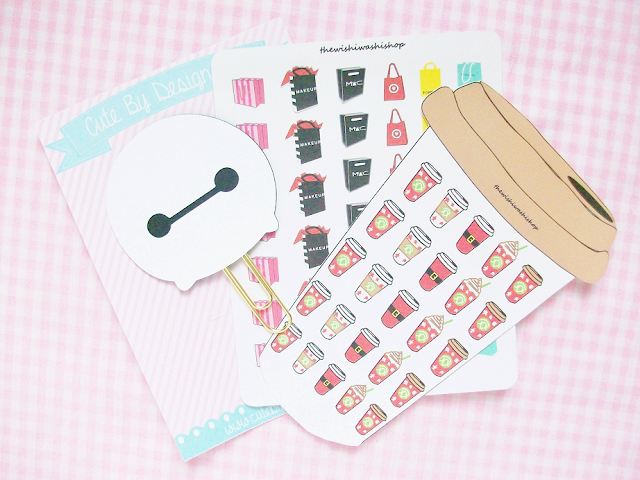 The Wishi Washi Shop + Cute By Design Co Stationary Haul