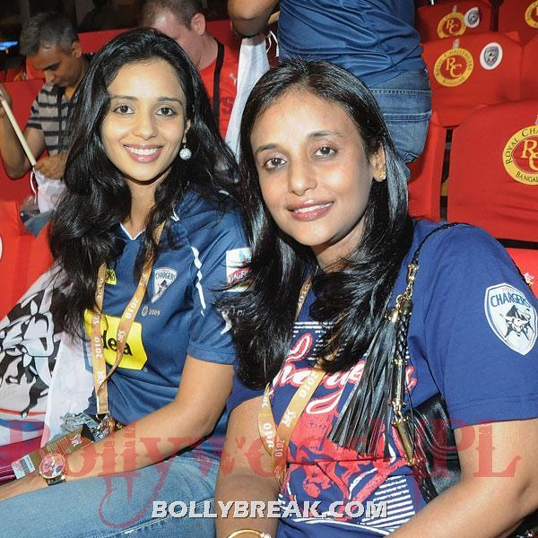 Deccan Chargers owner T Venkattram Reddy's daughter Gayatri Reddy enjoys the match - (34) - Gayatri Reddy Hot Pics at IPL Matches