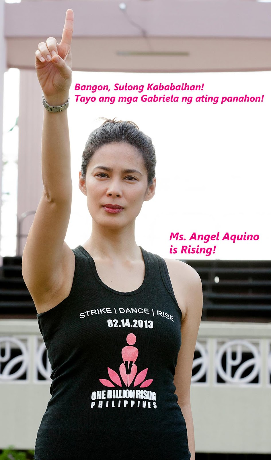 The Philippines Joins Eve Ensler's ONE BILLION RISING on Thursday, 2/14