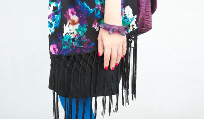 tassel kimono, Kate Rohde, Quiz Clothing