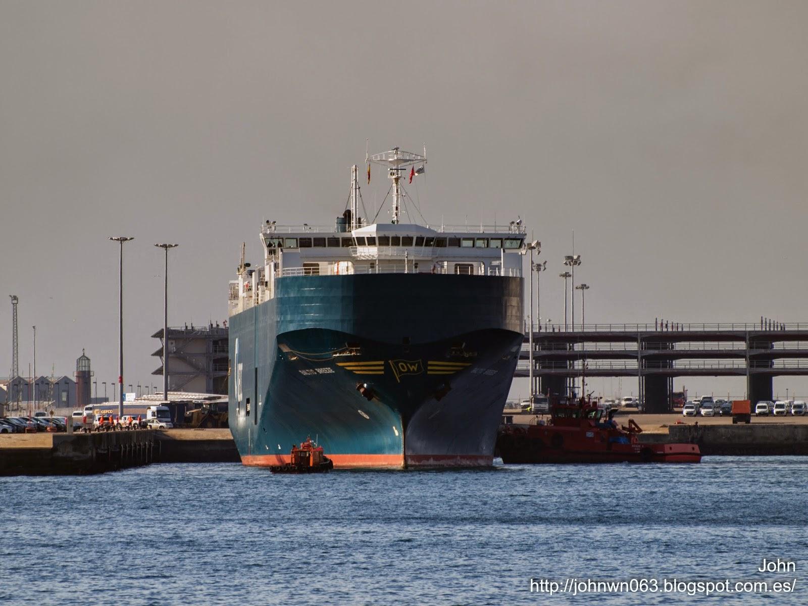 fotos de barcos, imagenes de barcos, baltic breeze, Ro-Ro, vigo, bouzas