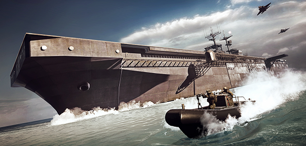 Battlefield 4 Carrier Assault Mode Detailed
