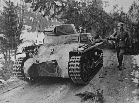 Una unidad panzer en Noruega en abril de 1940, de John Erling Blad