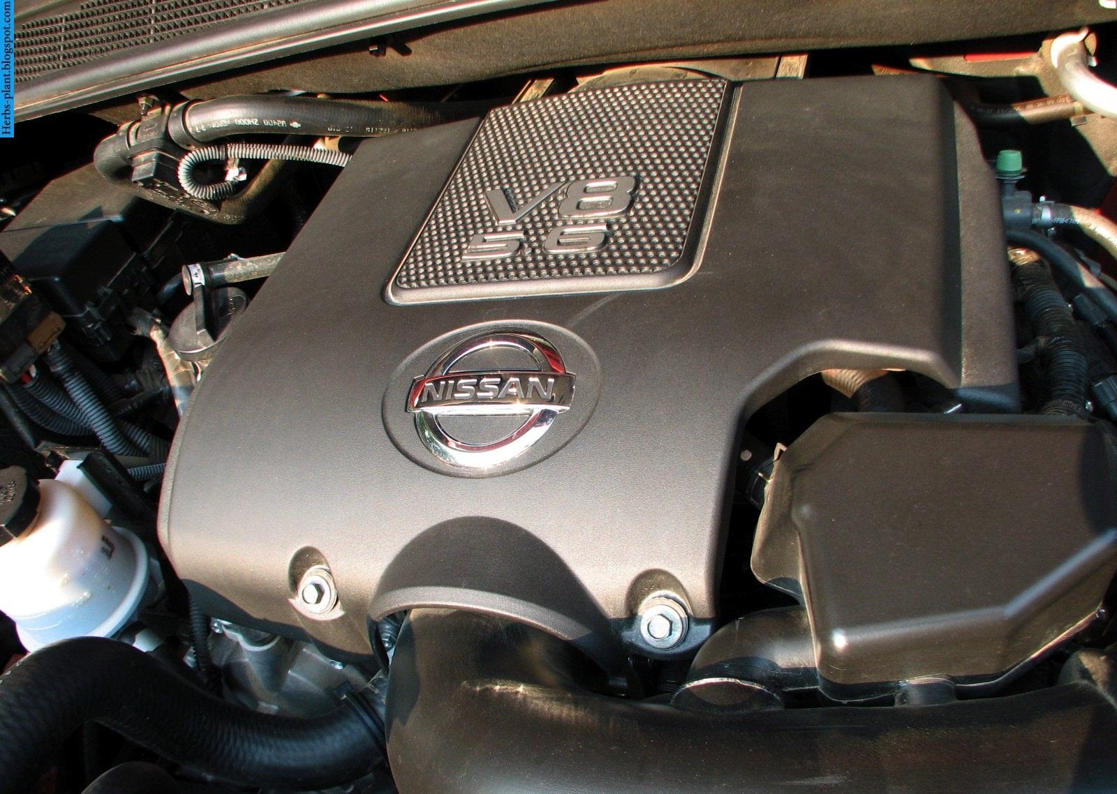Nissan titan car 2013 engine - صور محرك سيارة نيسان تيتان 2013