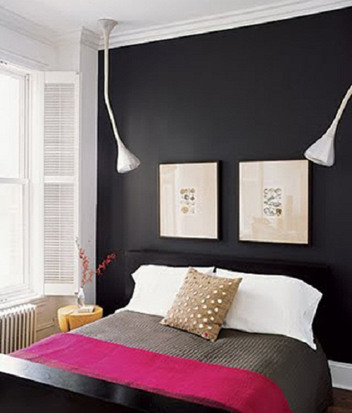 Black And Pink Bedroom Ideas