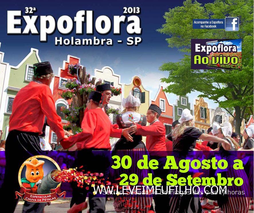 EXPOFLORA - HOLAMBRA - SP