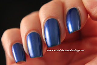 sinful colors midnight blue nail polish