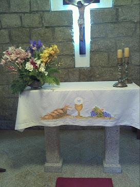 Toalha de Altar (Oferta para a minha mãe)