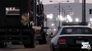 Grand Theft Auto V  police car