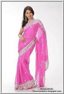 Bangladeshi model Monalisa