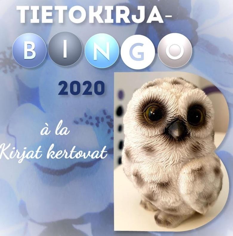 Tietokirjabingo 2020