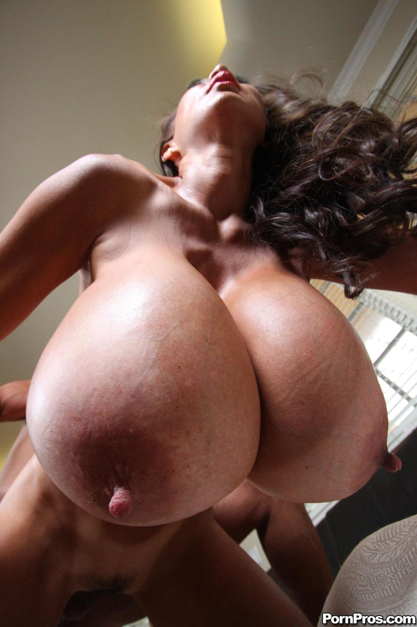 Asian big boob minka queen