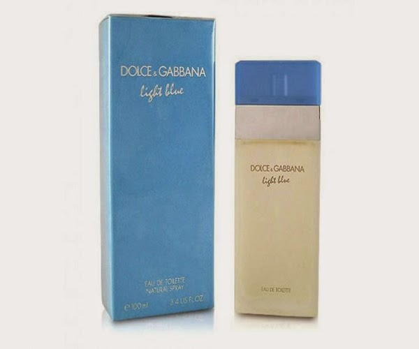 top perfume 2014, top perfume 2014 women, light blue, dolce & gabbana