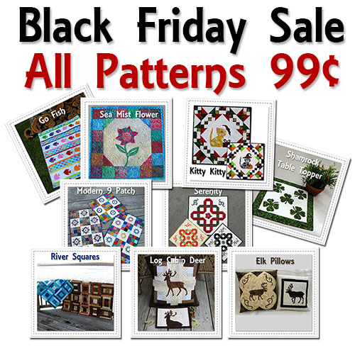 All Patterns on sale at Freemotion by the River