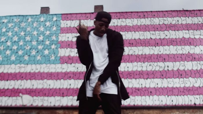 Lecrae welcome to america music video still shot