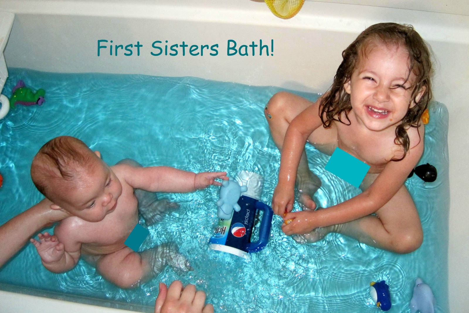 bathtime girls