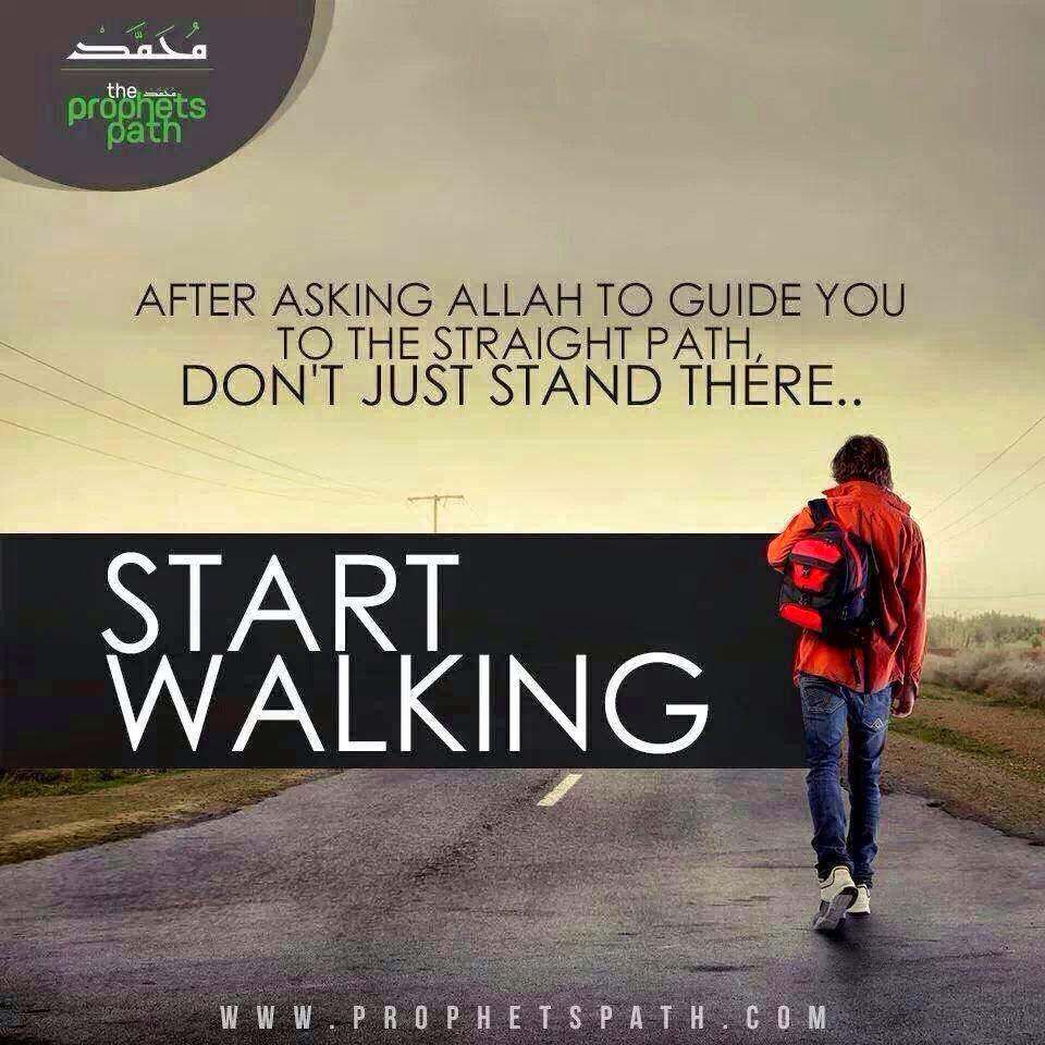 Bila Hidayah menyapa, teruslah Melangkah =)