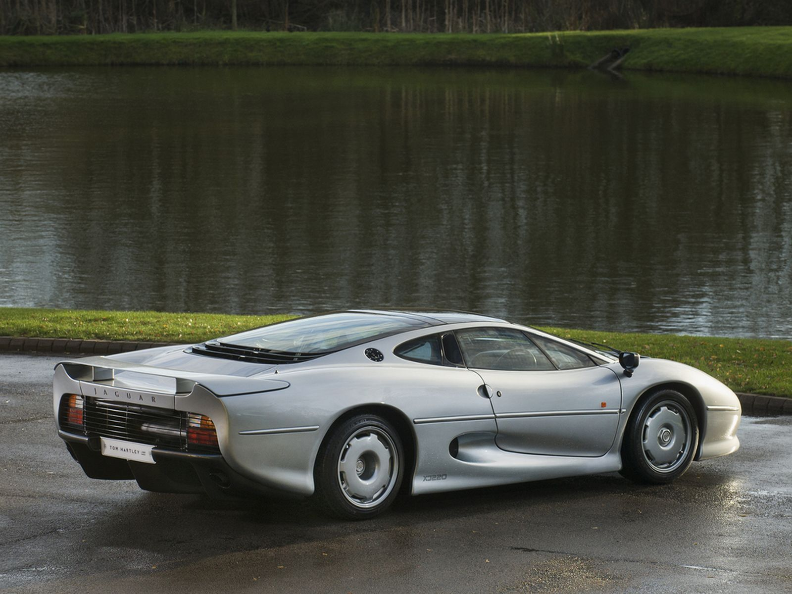 Stunning Silver Jaguar Xj220 Available For Purchase In The