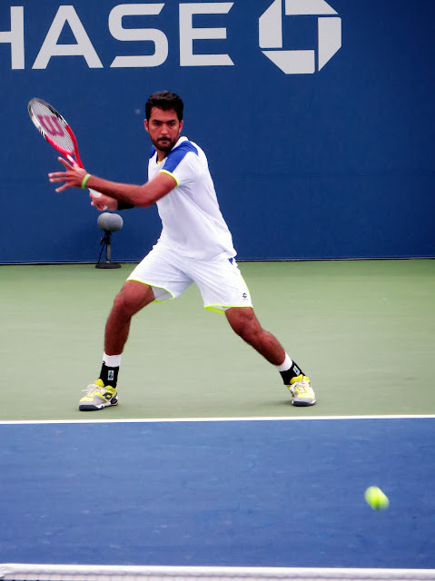 Aisam Qureshi 2013 US Open