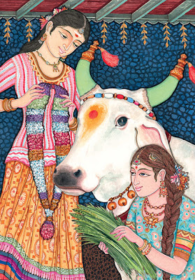 Why do Hindus Worship Cows - Sumbol of selflessness