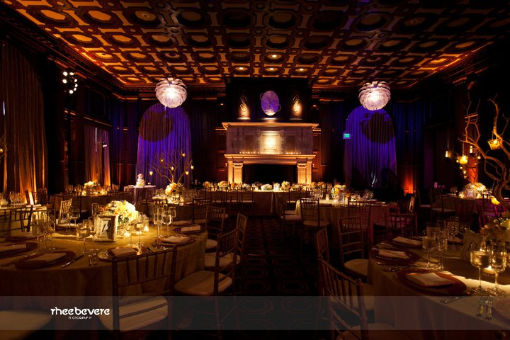 The Julia Morgan Ballroom set and ready for the Jenna and Justin 39s guests