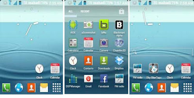 TouchWiz UX Launcher  of S3 for galaxy y