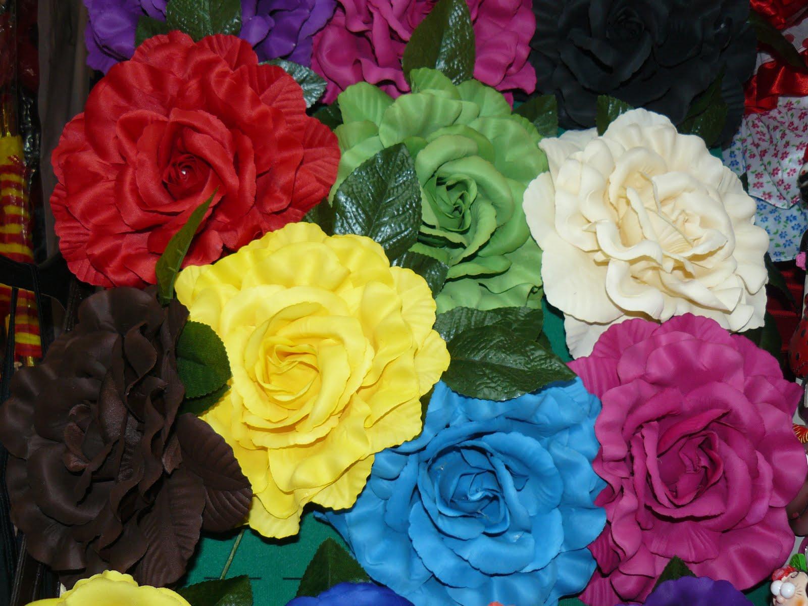 flores de flamenca grandes muy econmicas desde uac
